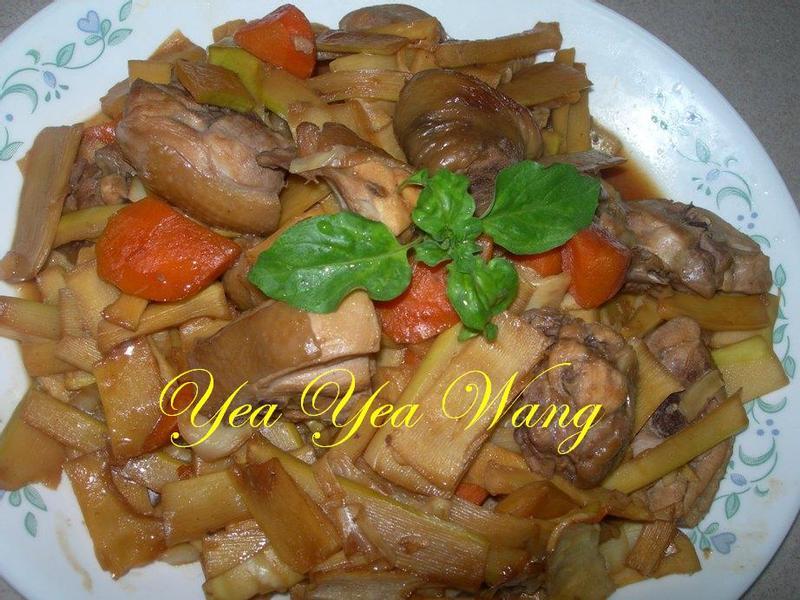 紅燒脆筍雞腿肉塊