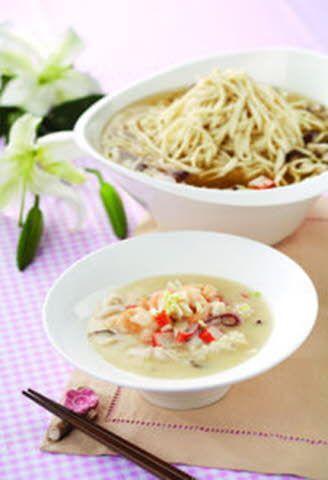 白汁高湯燜意麵