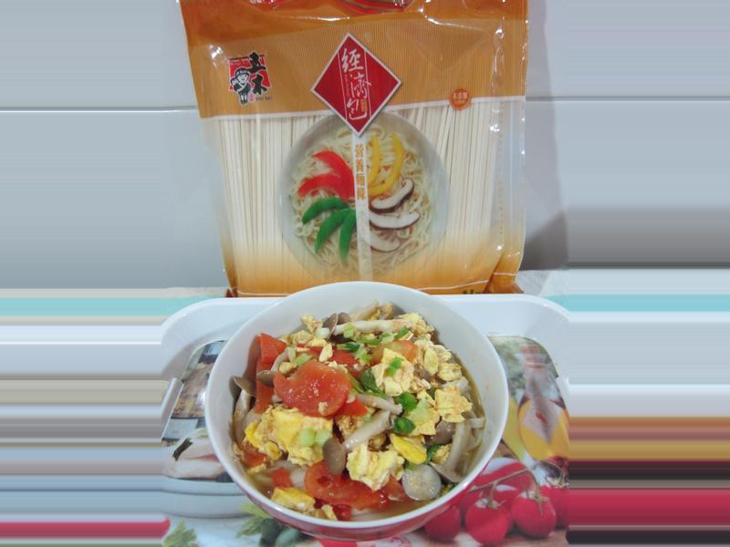 五木麵條  蕃茄蛋營養麵