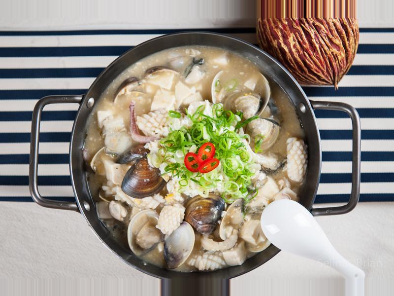 金沙海鮮豆腐煲@Selina Wu