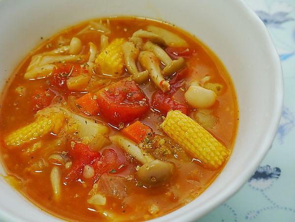 蕃茄蔬菜燕麥濃湯