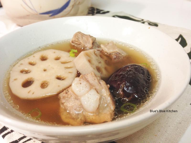 紅棗蓮藕排骨湯[落建養髮料理]