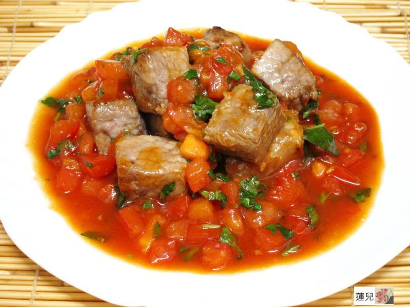 茄汁方塊豬【泰山橄欖油】