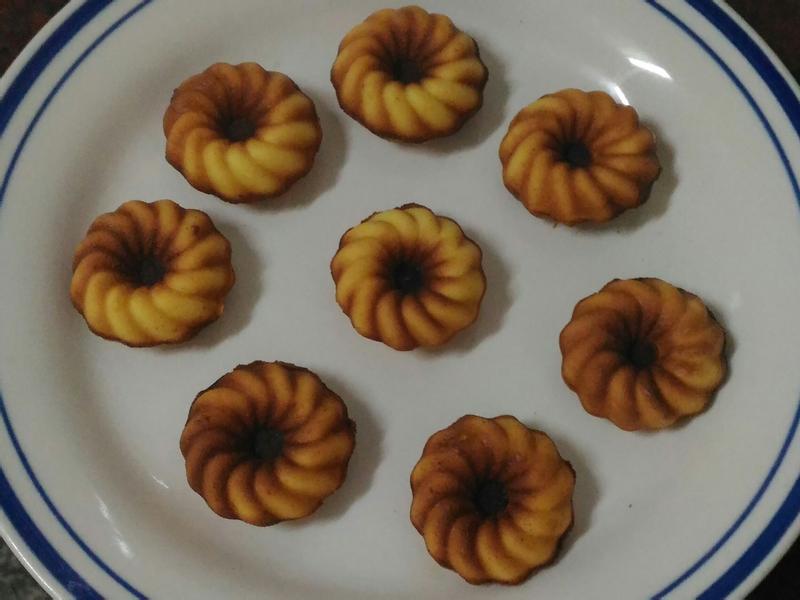 雞蛋糕(小V版甜甜圈)