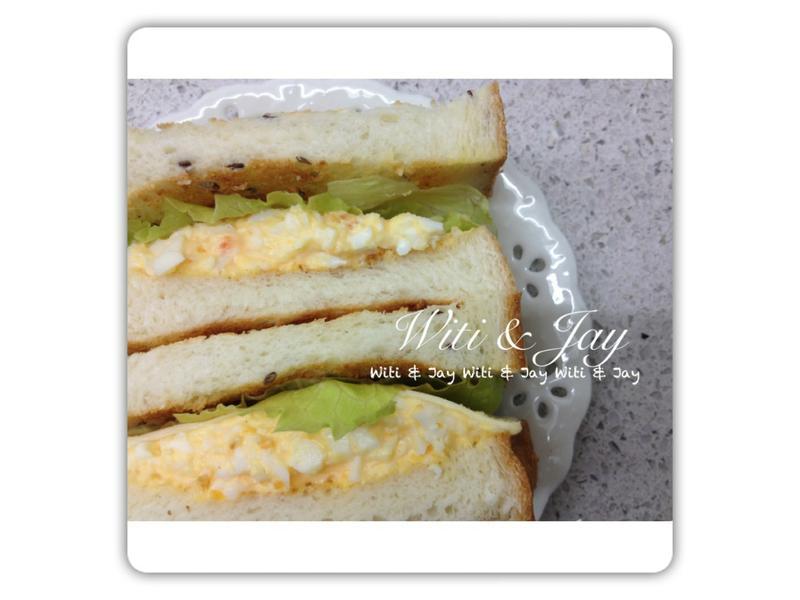 [Witi✿Kitchen]蛋沙拉三明治