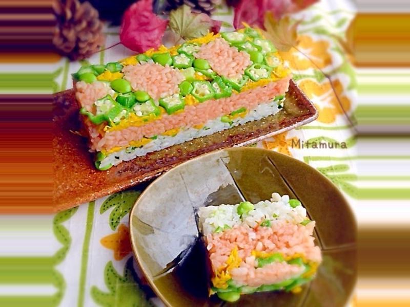 菊花押壽司