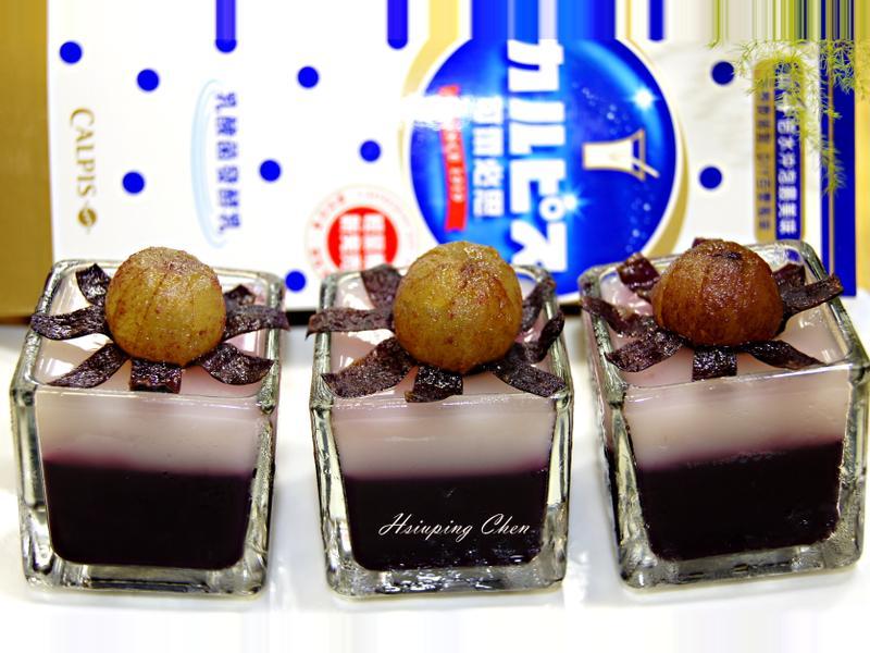 【可爾必思】藍莓果凍