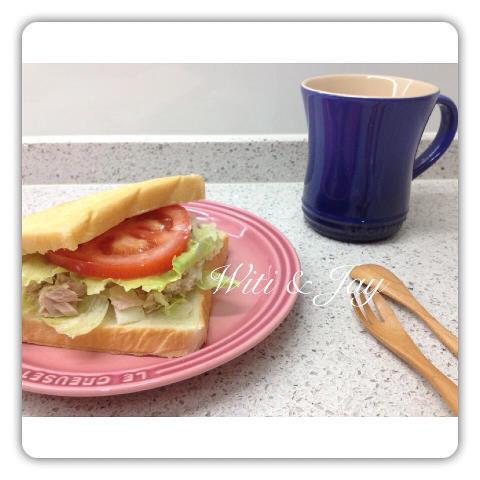 [Witi✿Kitchen]鮪魚蛋沙拉三明治