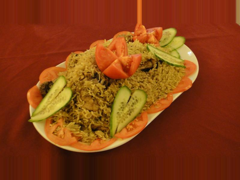 莫齊尼廚房中東菜--Machboos炊雞飯