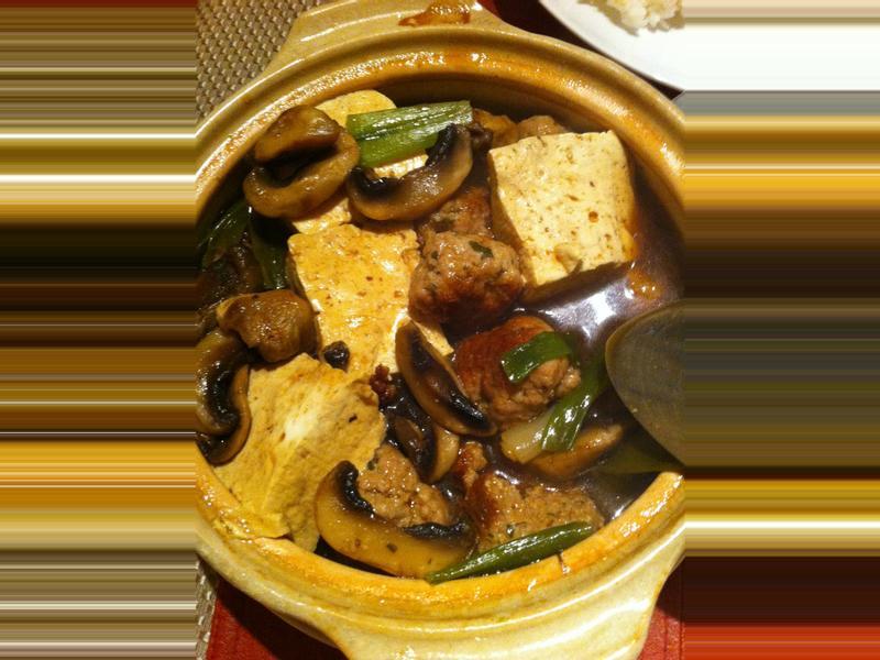 豆腐豬肉褒