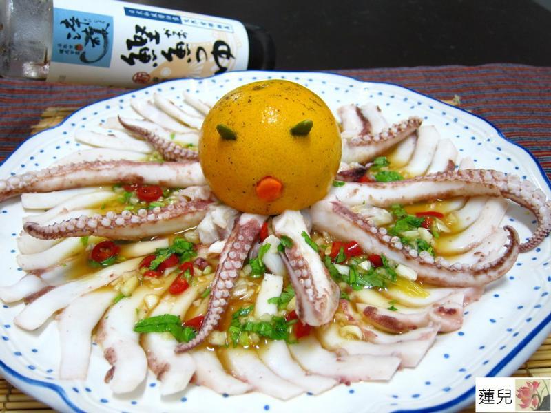 """醬拌山寨版章魚""""時間淬釀的甘露之味"""""""