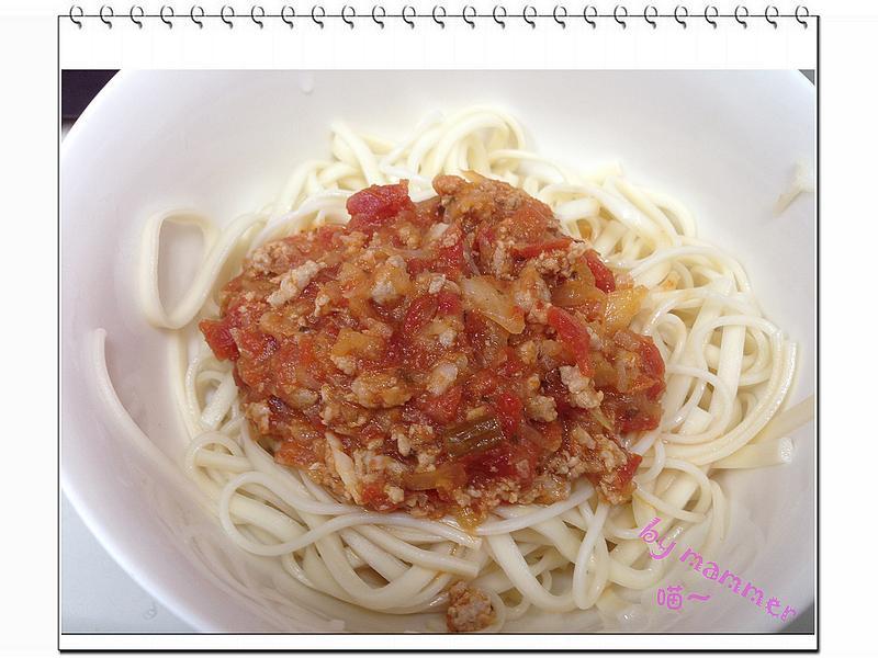 義大利肉醬蕃茄麵