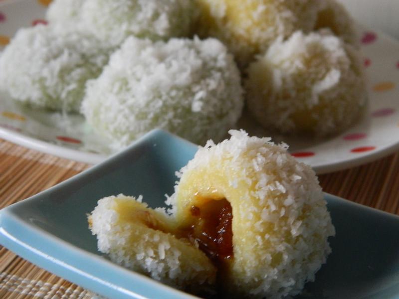 [南洋味/娘惹甜點]爆漿!椰糖椰絲球