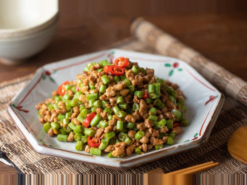 香炒絞肉四季豆 - 下飯菜