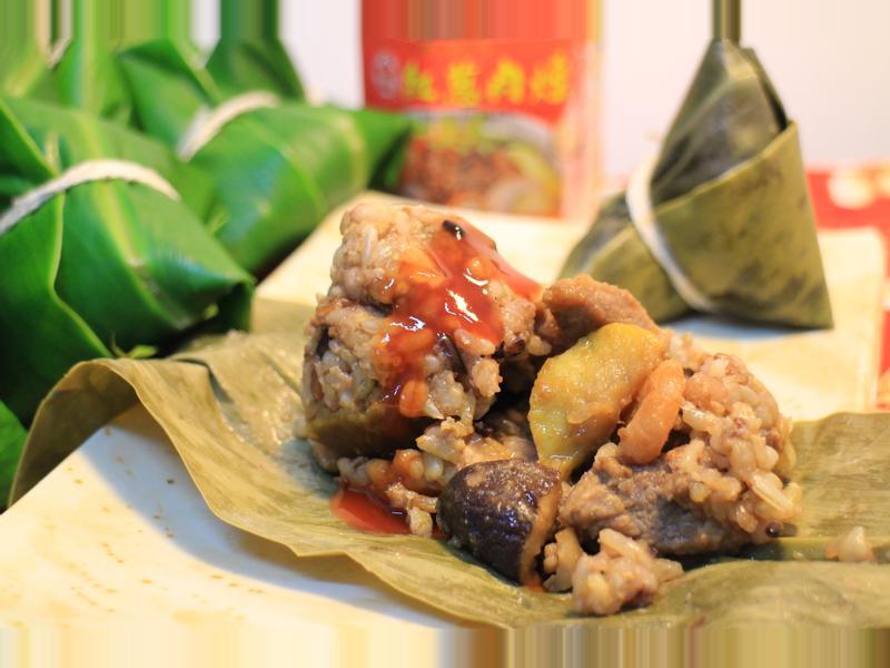 健康養生粽『牛頭牌端午好香拌』