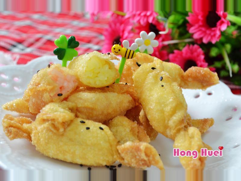 香Q彩米糖果酥