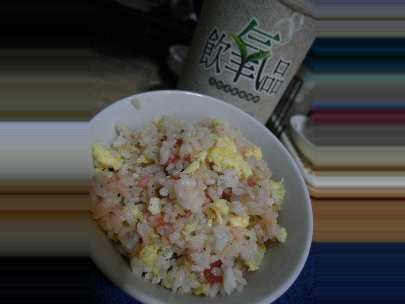 日本梅 氧氣炒飯