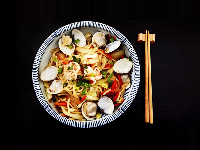 食煮#17 海鮮炒麵