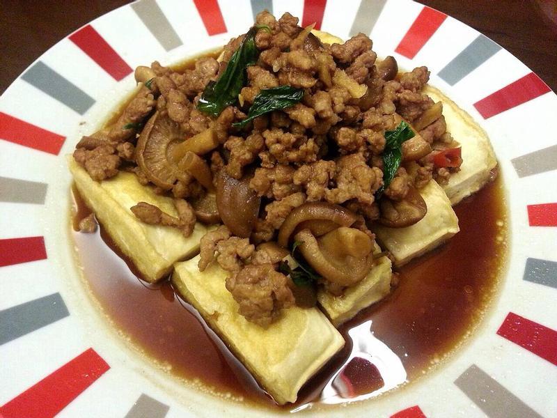 ❤ 塔香麻辣臭豆腐 ❤