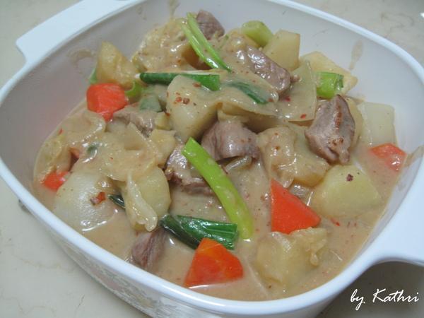 味噌馬鈴薯燉肉【卡特莉的晚餐】