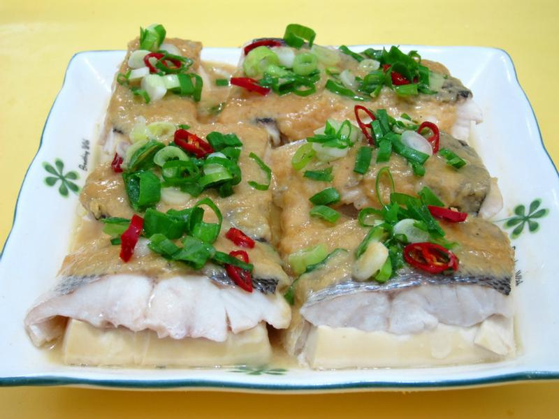 味增豆腐魚