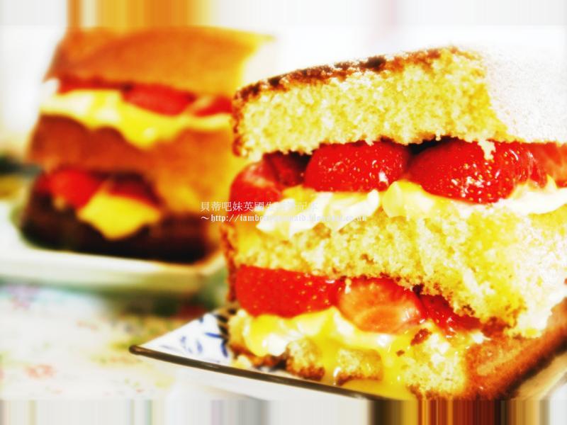 【貝蒂甜點吧】薇多莉亞草莓三明治