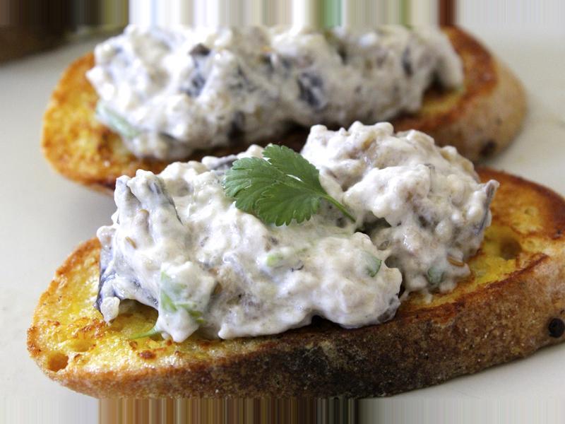 『大猩猩料理』茄子魚子醬 Aubergine Caviar