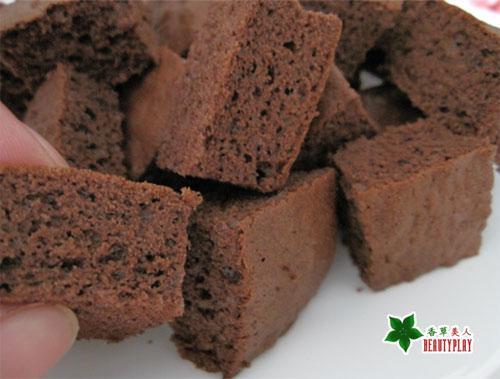 巧克力方塊海綿蛋糕