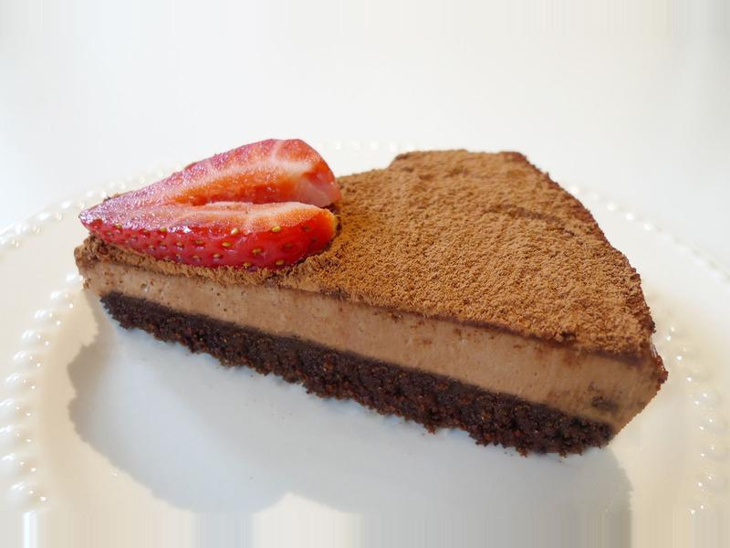 免烤箱巧克力起士蛋糕