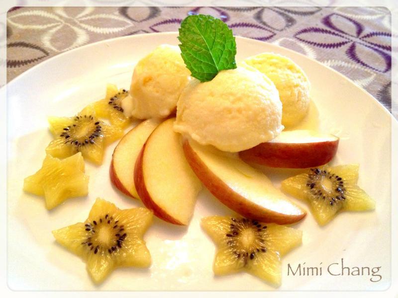 Mimi♥檸檬芒果冰淇淋聖代