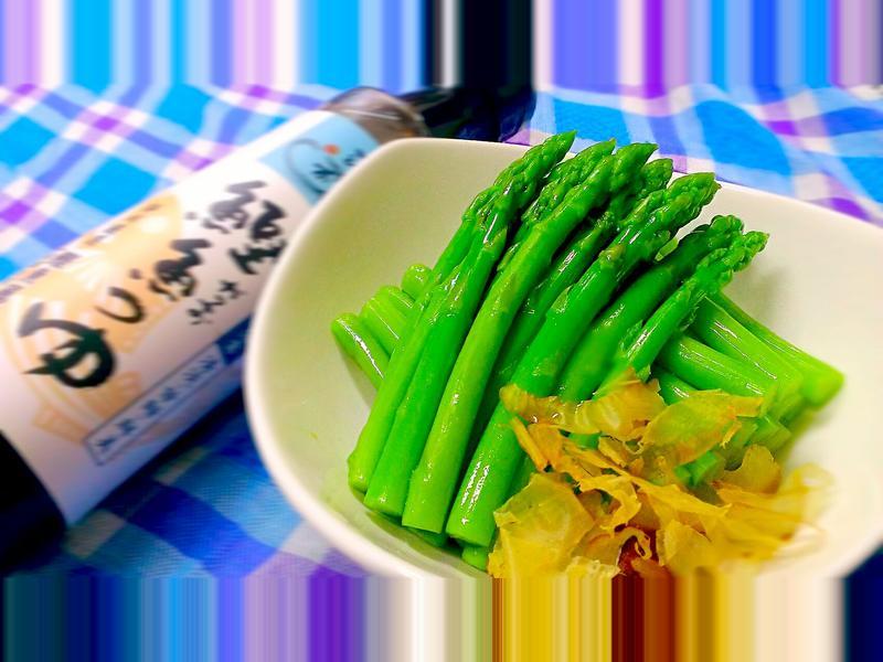 涼拌蘆筍【淬釀日式下午茶點】