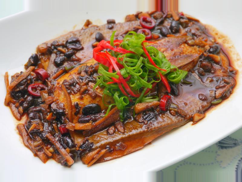 豆豉虱目魚