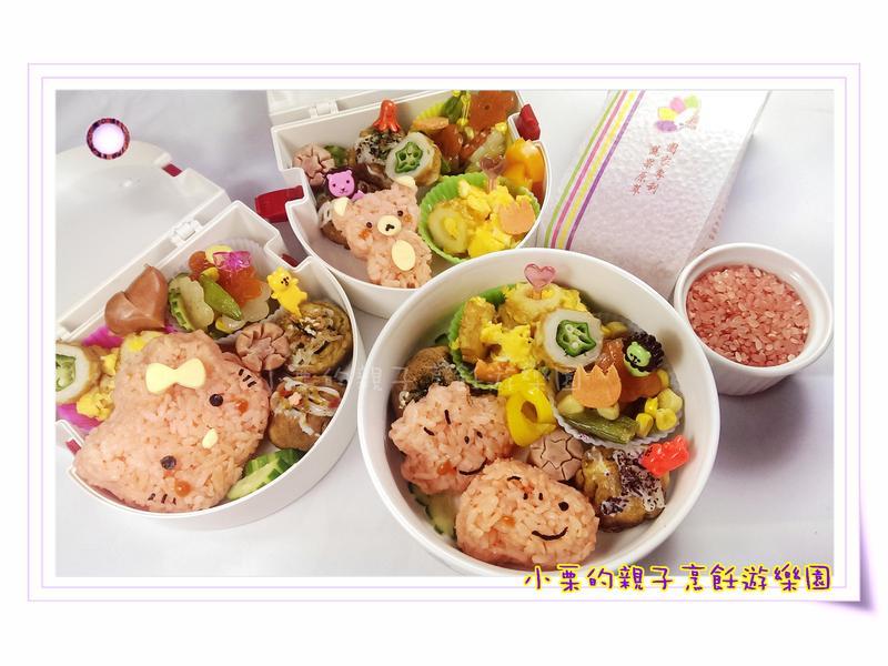 一起野餐吧!-台灣彩色營養米