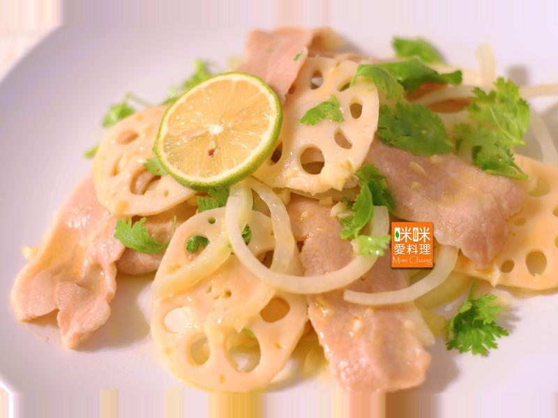 Mimi♥松阪豬蓮藕沙拉