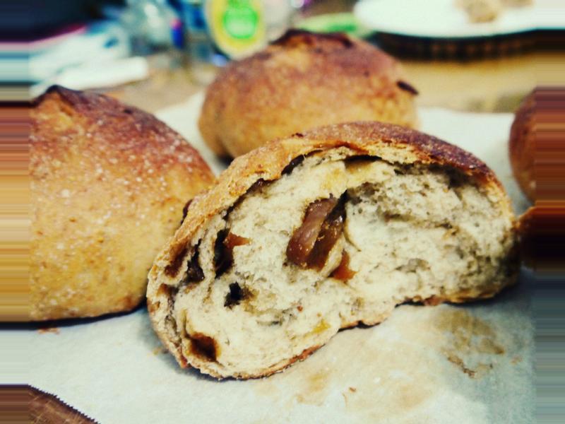 冷酵麵團 - 無花果麵包