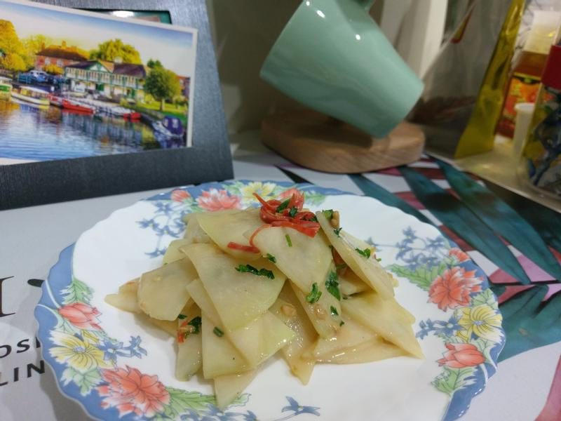 涼拌菜-豆腐乳拌大頭菜