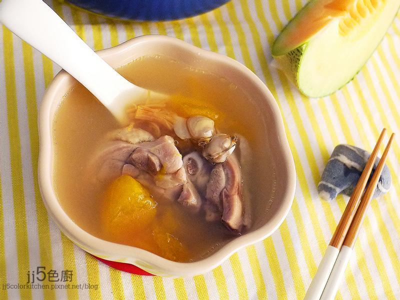 哈蜜瓜蛤蜊雞湯「LSY美肌養成秘笈」
