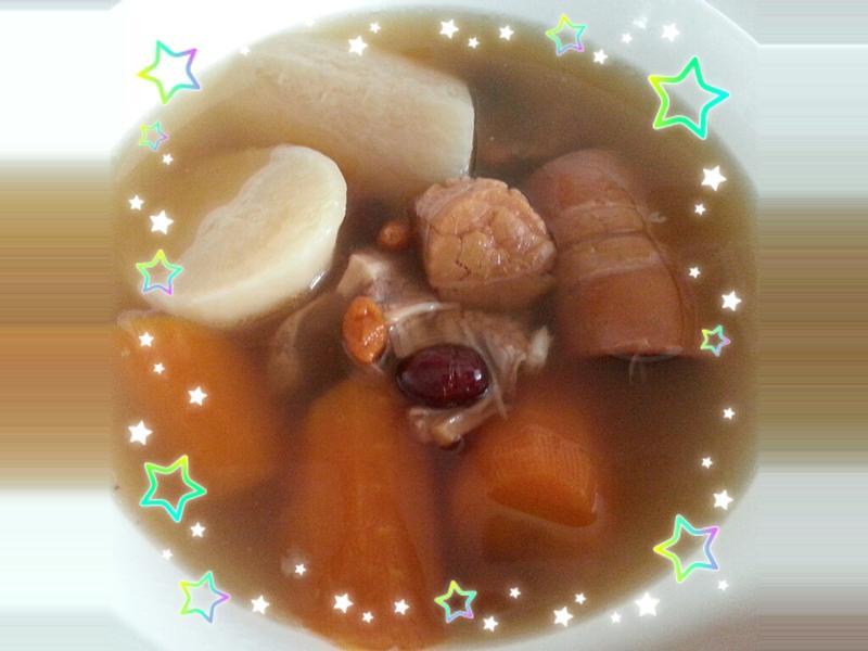 紅白蘿蔔湯