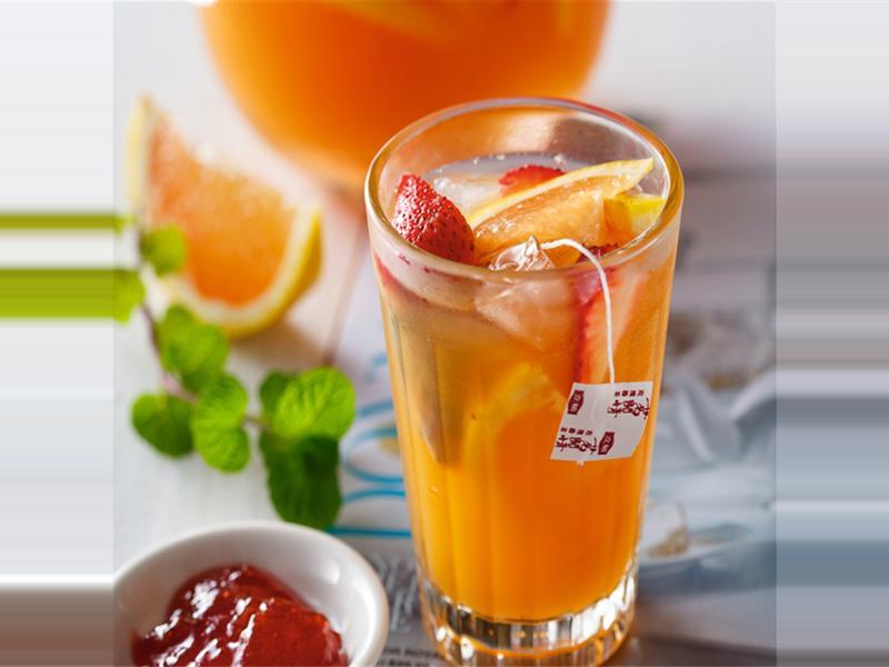 創意茶譜》法式水果茶