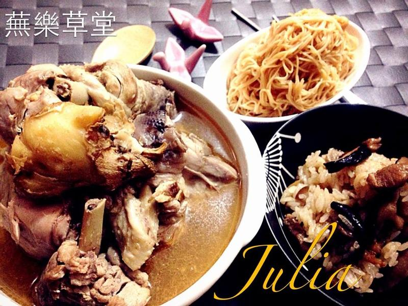 【吃丁酒解饞●正港麻油露骨雞】