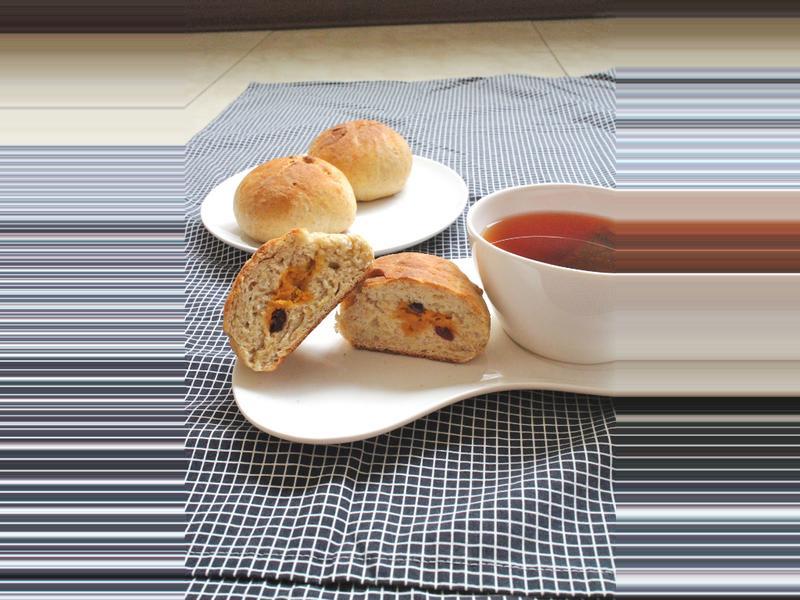 地瓜蔓越莓麵包~免揉系列