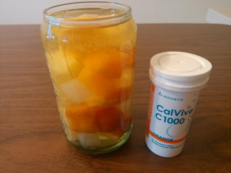 果粒汽泡水『諾鈣C發泡錠』