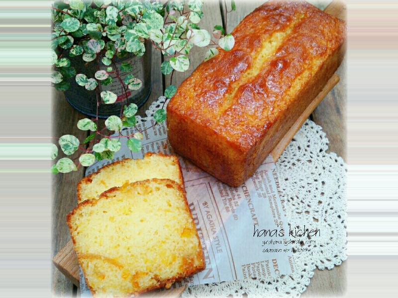 柑橘蜂蜜蛋糕