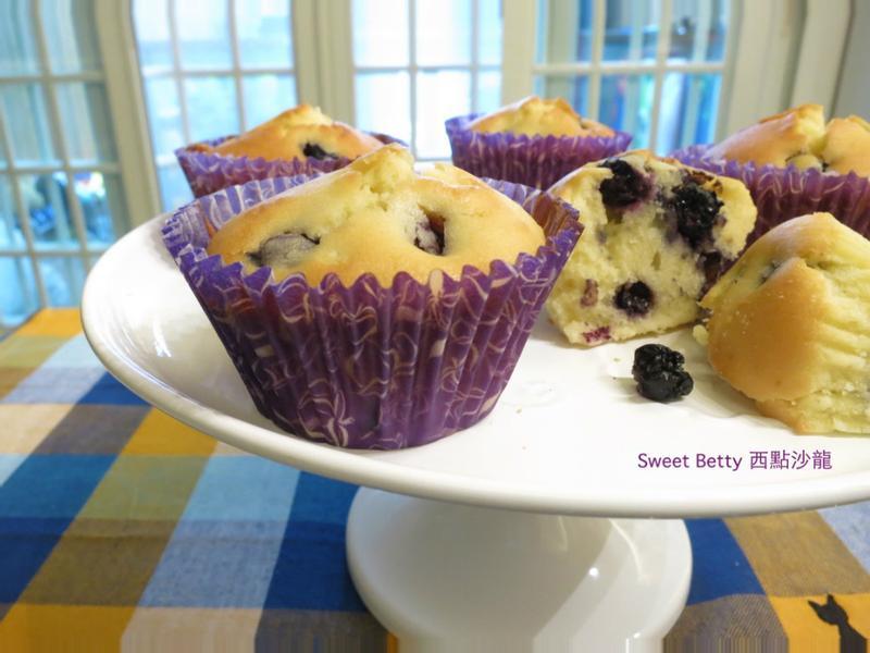 藍莓杯子蛋糕