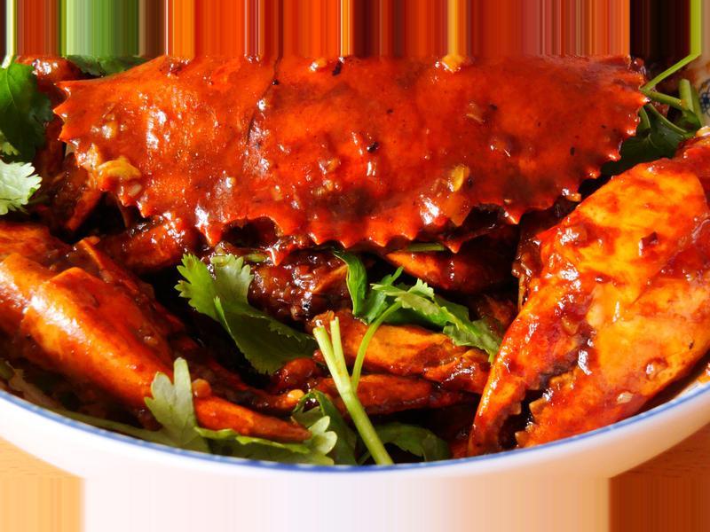 <魯菜>醬炒青蟹