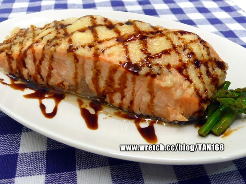 ♥ ♥蒜蓉油膏烤鮭魚♥ ♥ <紙包魚4>