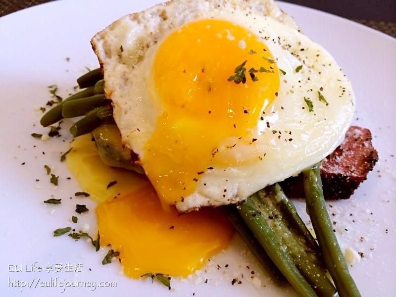 美式Brunch-雞蛋火腿排