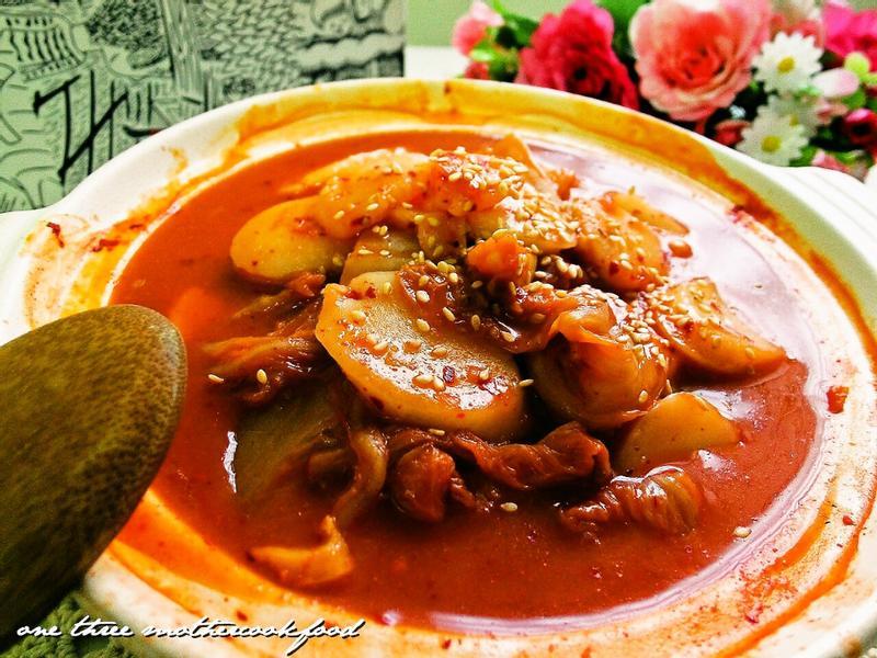 泡菜炒年糕--時間淬釀的甘露之味