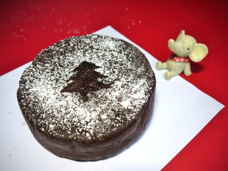 厚濃巧克力蛋糕