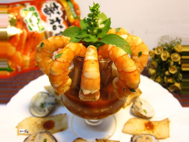 海鮮雞尾酒【可果美蕃茄鍋高湯】